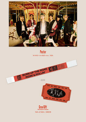 NCT DREAM RELOAD 4th Mini Album CD+POSTER+Book+F.Poster(On)+2Card+GIFT 7