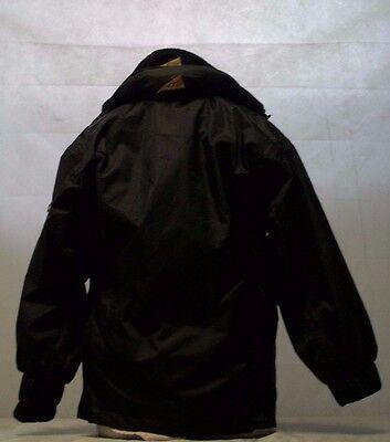 GTI Outdoor Antuco Juniors Black & Blue Waterproof Jacket 5
