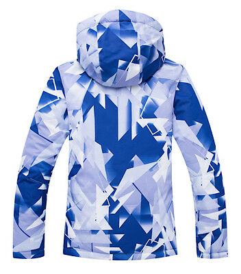 Completo Neve Tuta Sci Donna Giubbotto Set 2 pz Windproof Ski Suit Set CMSW10 P 4