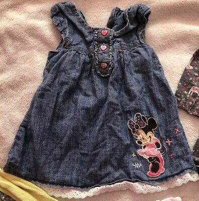 Beautiful Bundle Of Baby Girls Dresses Age 6-9 Months Inc. Next, F&F, George 4