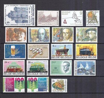Belgien postfrisch Jahrgang 1986