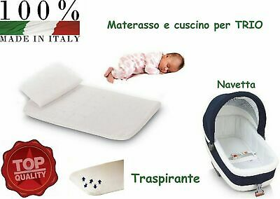 Completo Antisoffoco Per Carrozzina Materassino E Cuscino Nancy Culla Materasso Eur 19 99 Picclick It