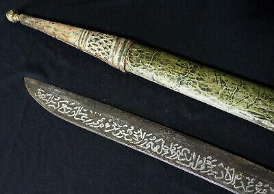 Antique islamic Filipino Visayan Philippines Tenegre Sword Dagger Knife 18/19th 11