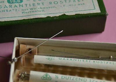 antike Hona Dental Kanülen zur Fischer Spitze Verpackung Schachtel Flacons 2