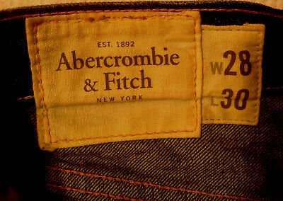 Abercrombie & Fitch Jeans BAXTER Indigo Destroy W28 L30 RRP $279 Mens or Boys 3