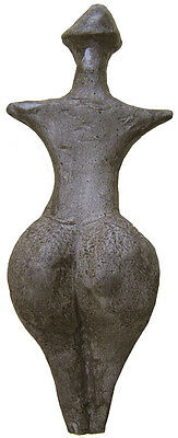 Neolithic Venus from Střelice  - casts of resin