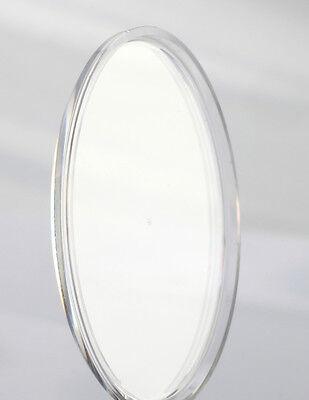 UHRENGLAS für Armbanduhr Kunststoff rund PLAN / Durchmesser AUSWAHL Uhrengläser 4