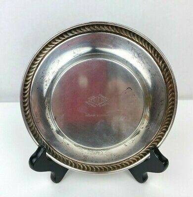 Stanley Home Products National Silverplate Wine Coaster Plate 3