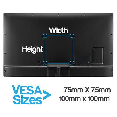"TekBox DUAL MONITOR VERTICAL MOUNT - 2 Computer Screen Stand 13-32"" Twin Display 5"
