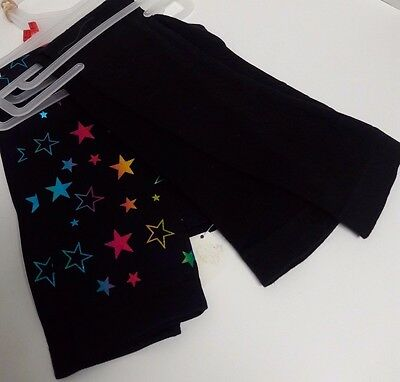 Back To School Set of 2 Girls Leggings Size Small (4-6 X ) 8