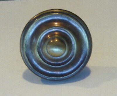 Vintage Bullseye Cabinet Knob Pull Dresser Drawer Hardware Antique Bronze Finish 3