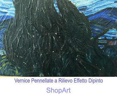 Quadro Pannello in Legno Stampa Paesaggio Bosco Quadri Moderni Albero Natura 3