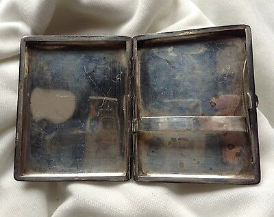 Chinese Antique Handmade Sterling Silver Cigar Box House Tree Relief Stamp Seal 8