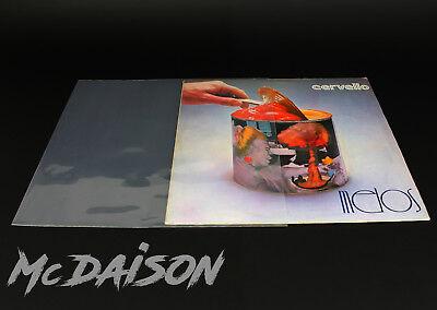 McDAISON - 100 Buste per dischi records LP in Polietilene spessore 120my 5