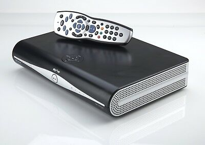 Sky + Plus Hd Box 500Gb Slim Line Receiver/Recorder With Remote And Power Cable! 3