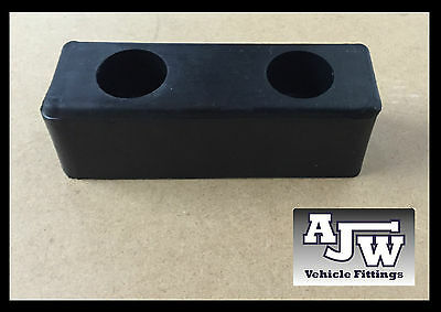 "4 X Rubber Buffer 6"" x 2"" 150mm Truck Trailer Horsebox Tailboard HGV Bumper Boat"