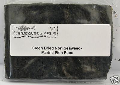 Dried Nori Seaweed Marine Fish Food Green and Dark Red 2 • EUR 2,41