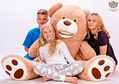GIANT LARGE BIG HUGE TEDDY BEAR XXL 160cm 200cm 270cm 63/'/' BEIGE