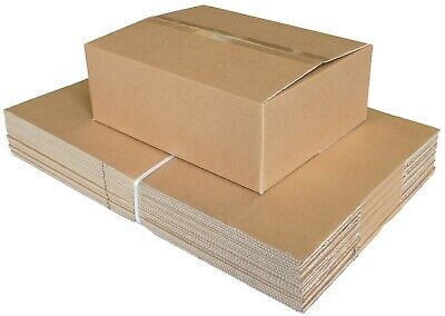 Shipping Storage Boxes Postal Subscription Small Parcel Packet Strong Cardboard 7