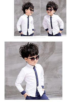 cea7d114a5c01 ... 2pcs Kids Baby Boys Formal Suit For Wedding Jackets Concert Suit Coat+Pants  Sets 7