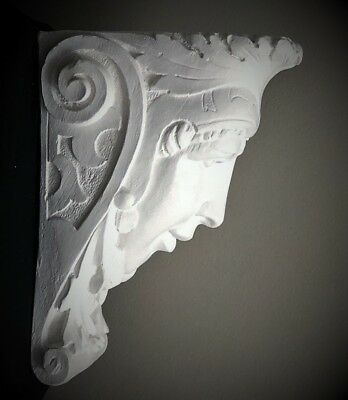 Lady Soldier Wall Corbel Bracket Shelf Architectural Accent Home Decor 3
