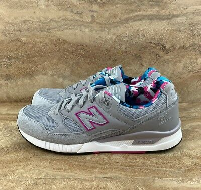 NEW BALANCE 530 ENCAP Mens Shoes Grey Suede Pink Blue Lining