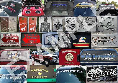 Tan Fall Camo Deer Skull S4 Vinyl Sticker Decal Hunting Buck whitetail rack