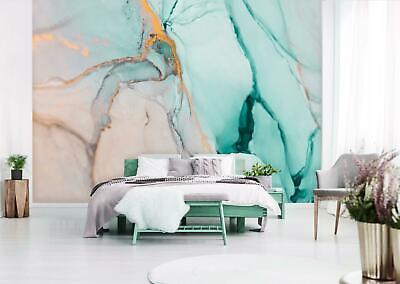 Tapete MARMOR Fototapete Vlies XXL Modern Wohnzimmer beige Steinwand Struktur 2