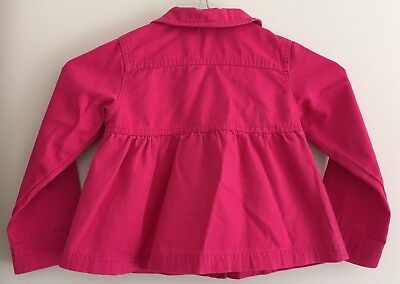 Adams Girl Bright Pink Jacket Size 3 Years 2