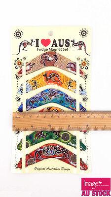 12pcs Australian Souvenir Fridge Magnets Boomerangs Assorted Design LY-MGT071x2 2