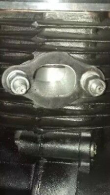 2X MUFFLER EXHAUST GASKETS FOR 80CC MOTOR BICYCLE ENGINE BIKE U MG03