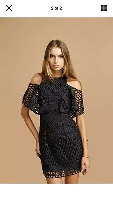 1 of 2FREE Shipping Kookai Crown Lace Dress 34 New With Tags Black Free Post  (d40) f20e691d3