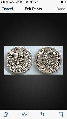 RDR St. Pölten Austria Restrike 1/2 Taler 1625 (1975 ] Silver coin