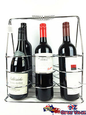Portable Wine Rack Home Decoration Party Dining Restaurant Dis[play Stand JB1034