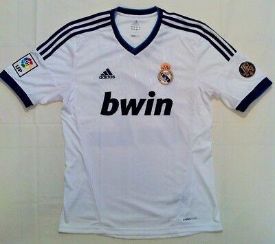 CAMISETA REAL MADRID Adidas 20122013 Ángel Di María (talla M)