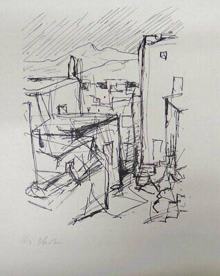 Karl August OHRT (1902-1993)  Lithografie, 39x52 cm  (283-13100) 2
