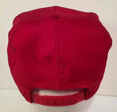 ... Vintage Red Embroidered Coca-Cola Snapback Hat Official Coke Product  Made in USA 3 7d53d72fef1c