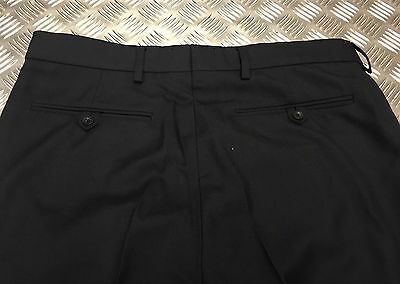 Genuine Vintage Grey Danish Army Fitted Wool Trousers All Sizes BRAND NEW