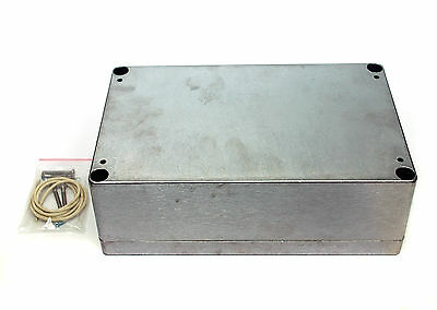 1pc Aluminum Enclosure Box With Wall Mounting Flange G115MF 148x108x75mm GAINTA