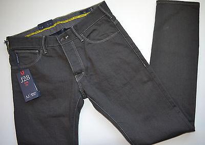 8424f558 NWT ARMANI JEANS J28 Slim-Fit Gray Wash Six-Pocket Style Twill Jeans ...