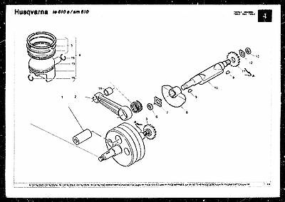 HUSQVARNA PARTS MANUAL Book 1999 TE 610 E & SM 610