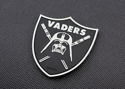Vaders 3D PVC Morale Patch GITD Star Wars Darth Vader Raiders Anakin Skywalker