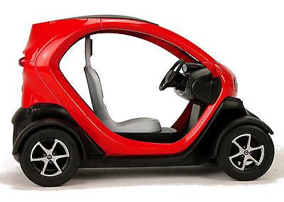 Renault TWIZY ZE rot Modellauto ca 1:18 = 12,5 cm Neuware von KINSMART