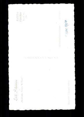 Erik Schuman Kolibri Autogrammkarte Original Signiert TOP## BC 838