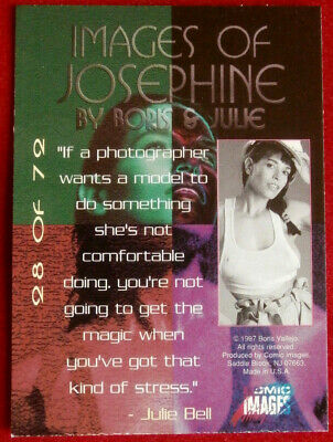 IMAGES OF JOSEPHINE - Individual Card #28 - Comic Images - Fantasy Art - 1997 2