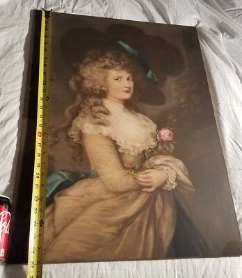 After Gainsborough - Her Grace Georgiana Duchess of Devonshire - Rare & Large - 3