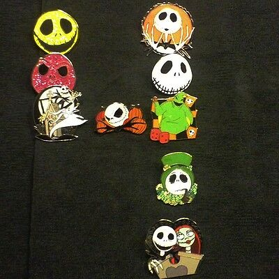 Disney Pins 50 Different Pins Cl, Le, Hm & Cast Pins Mixed Lot  Fast Usa Seller