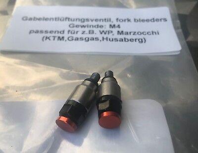 KTM EXC SX SXF SFIATO FORCELLA MOLLA gabelentlüfter SFIATO FORCELLA FORK VALVE