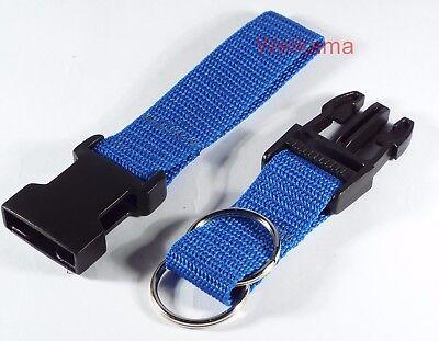 Police Security Twin Split Ring Belt Loop Side Release Key 25 mm Strap UK Made 2