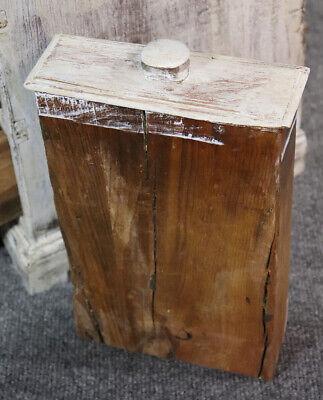 Rare Antique 1840s Era Salesmans Sample Painted Dresser Jewelery Box 9